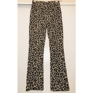 Urban Outfitters Cheetah Stretch Pants Sz. SP